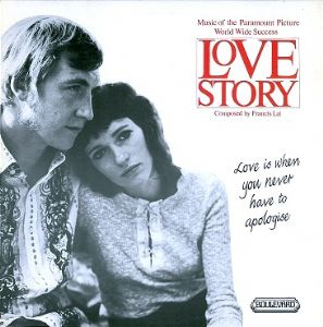 COLIN DYALL (THE KNIGHTSBRIDGE THEATRE STRINGS AND ORCHESTRA) Love Story LP Record Boulevard 1971